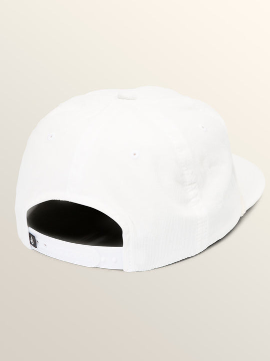 Tou-can Do It Hat In White, Back View