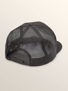 Vpp Helmet Cheese Hat In Black, Back View