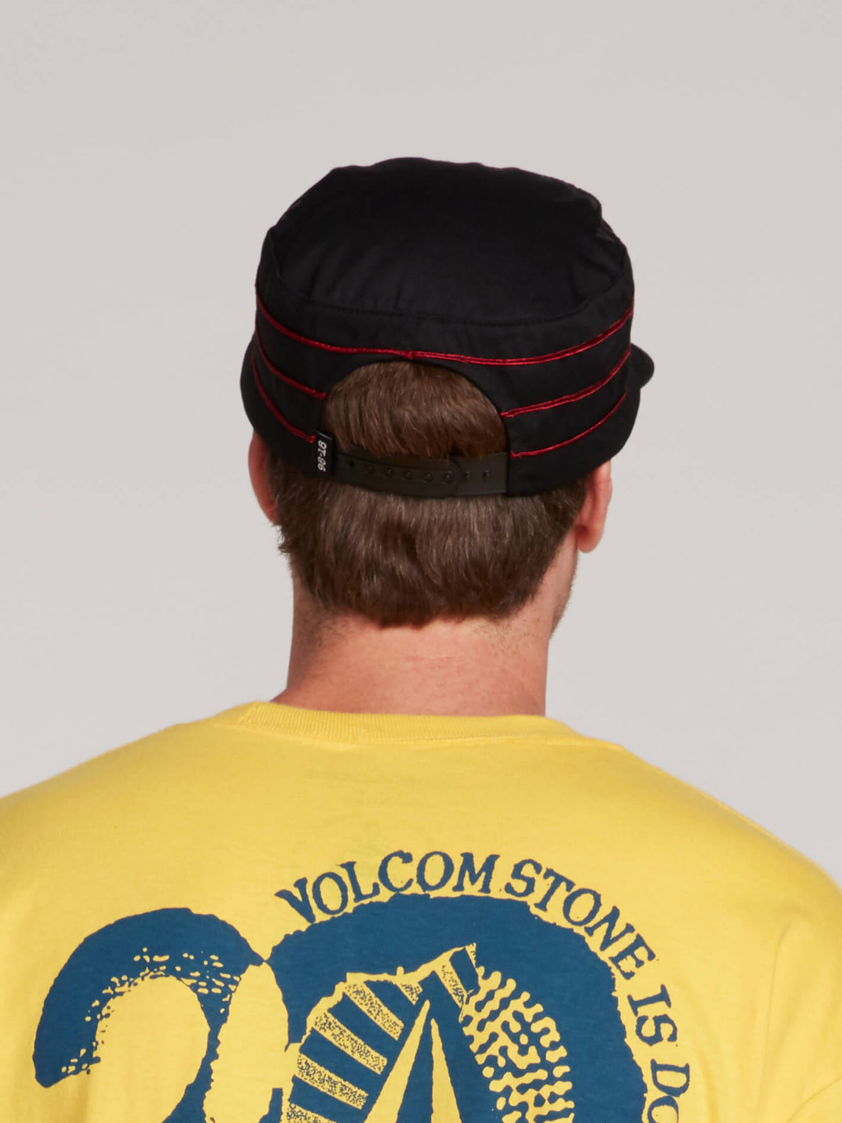 Gtxx Down South Cap In Black, Back View