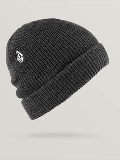 Full Stone Beanie - Charcoal Heather (D5831510_CHH) [F]