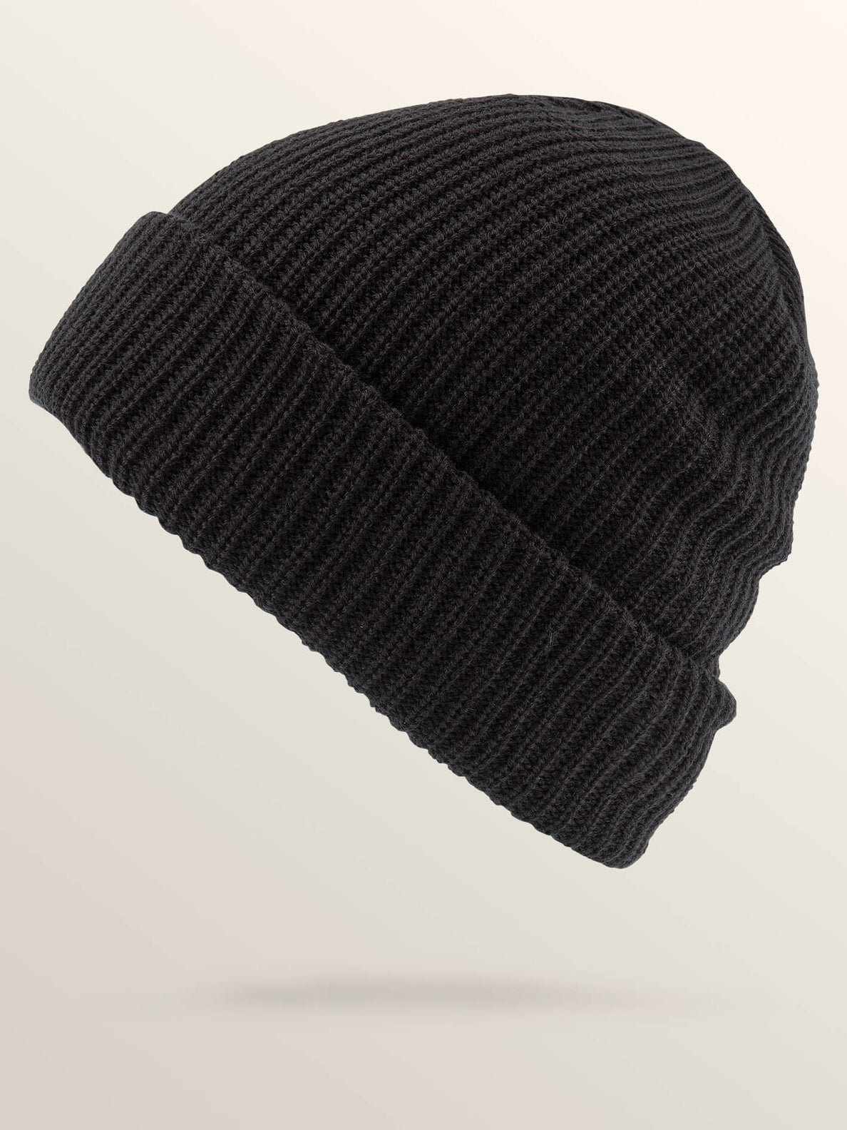 Naval Beanie In Black, Back View