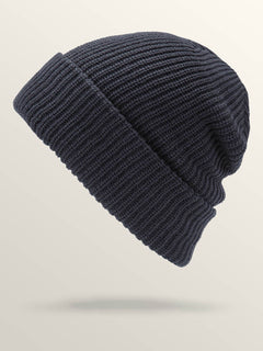 Naval Beanie In Navy, Back View