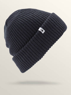 Naval Beanie In Navy, Front View