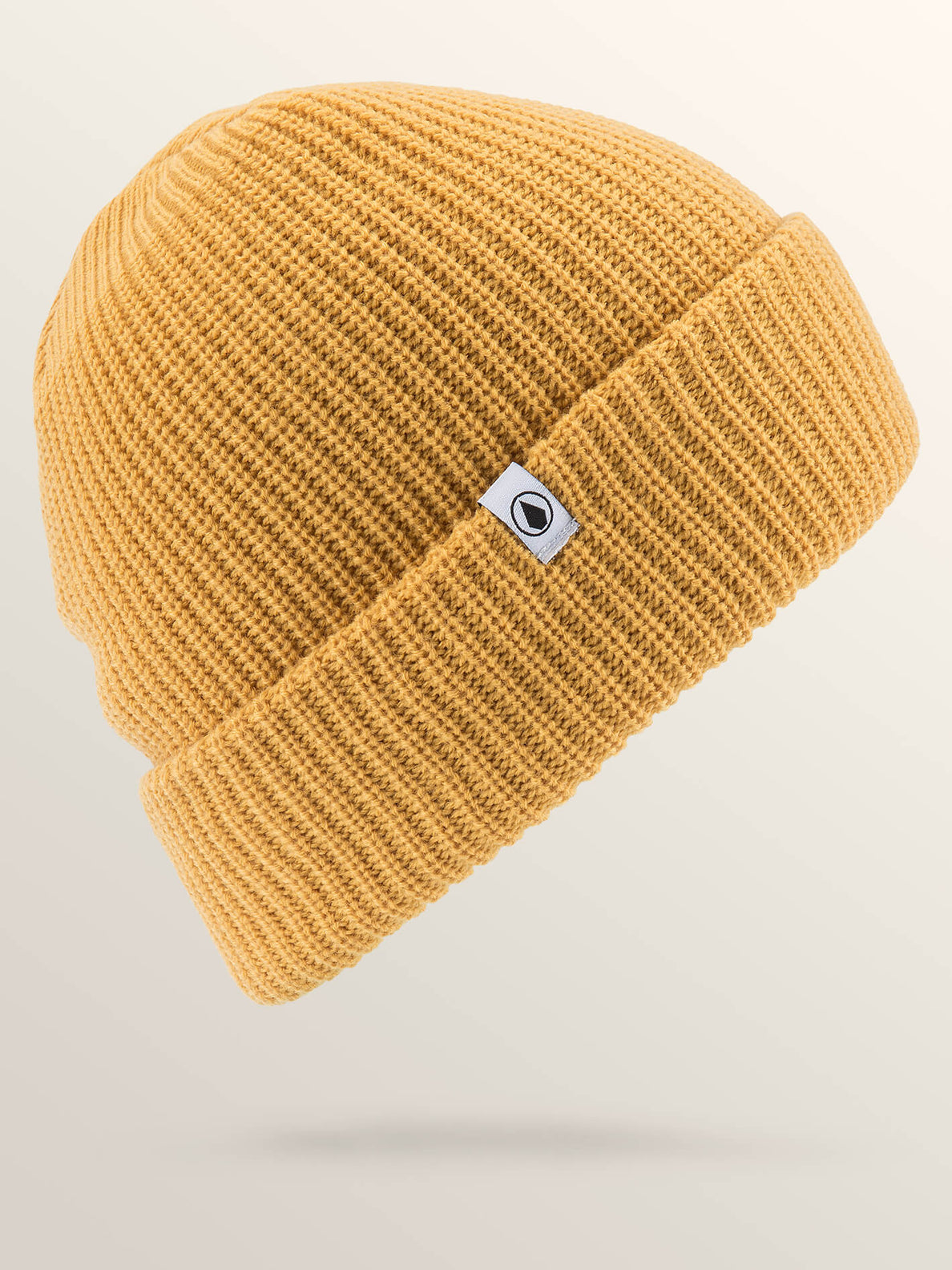 Naval Beanie In Seedy Yellow, Front View