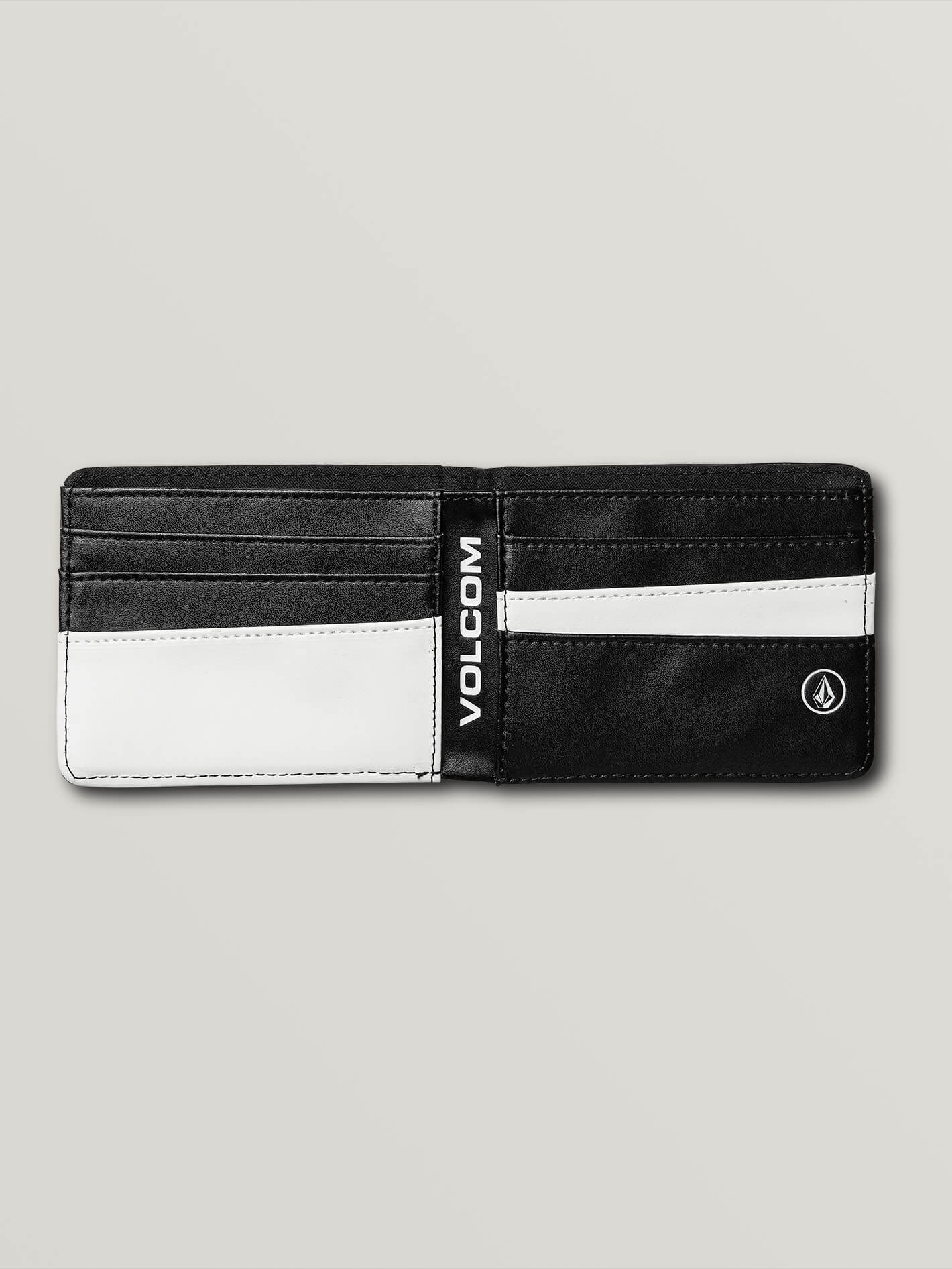 Volcom Mens Corps Wallet One Size Black