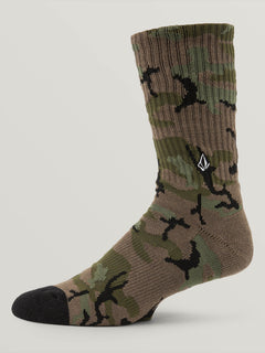 Noa Socks In Camouflage, Alternate View