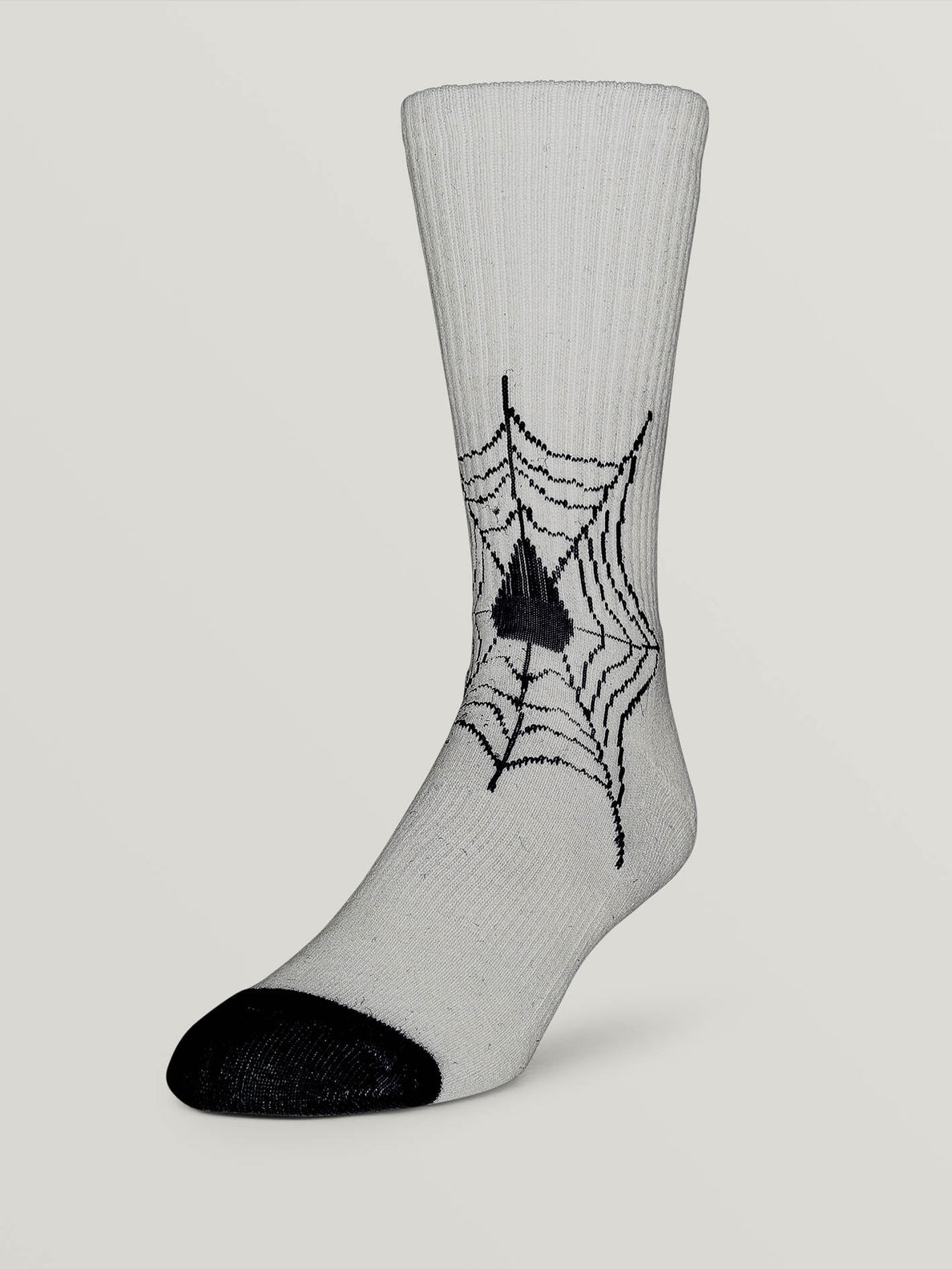 Lopez Sock In White, Fifth Alternate View
