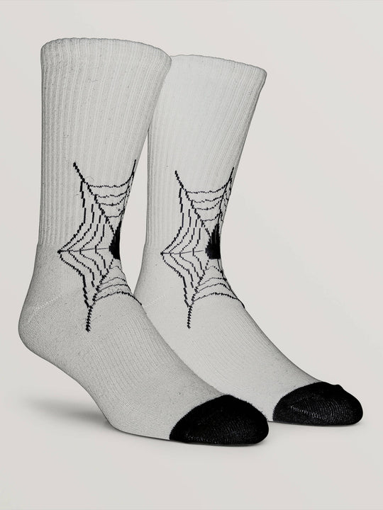 Lopez Sock In White, Front View