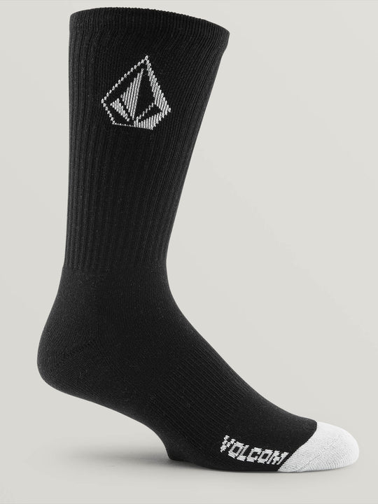 Full Stone Sock 3 Pack - Black (D6321800_BLK) [2]