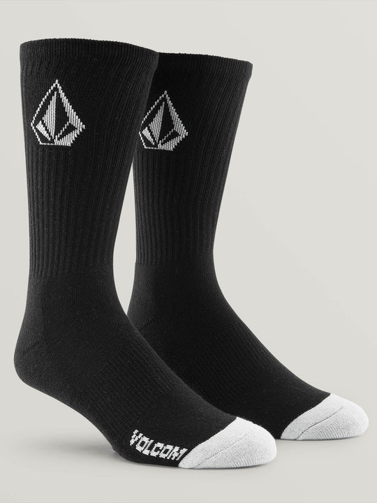 Full Stone Sock 3 Pack - Black (D6321800_BLK) [F]