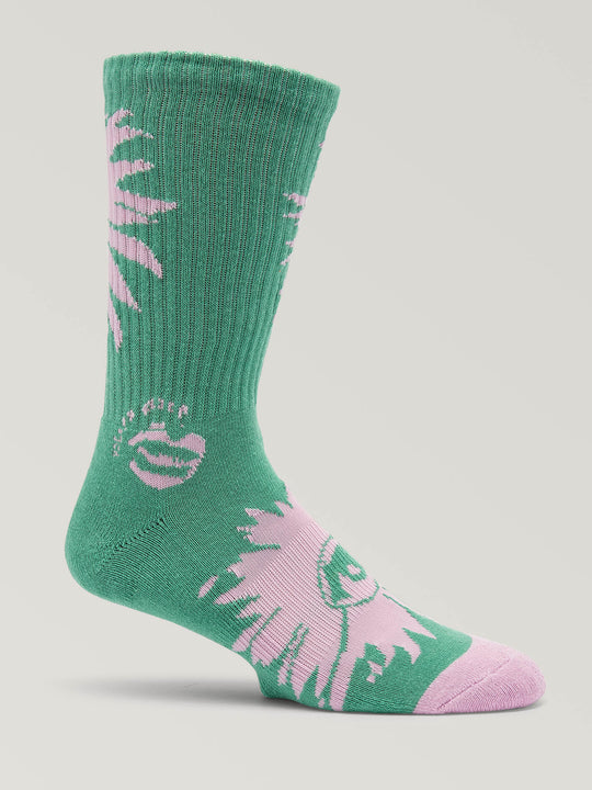 Blooming Eye Socks (D6321901_WNT) [B]