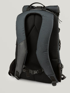 Mod Tech Surf Bag In Black Combo, Back View
