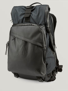 Mod Tech Surf Bag In Black Combo, Front View