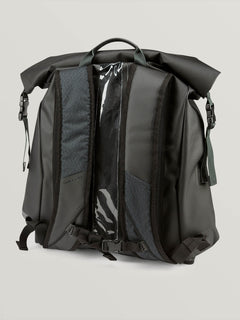 Mod Tech Dry Bag In Black Combo, Back View