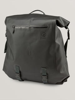 Mod Tech Dry Bag In Black Combo, Front View