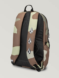 Substrate Backpack In Army, Back View
