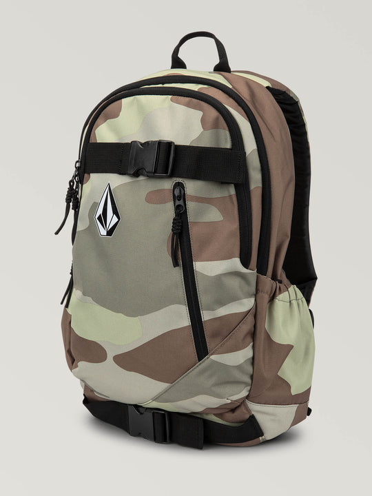 Substrate Backpack In Army, Front View