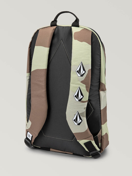 Academy Backpack In Army, Back View