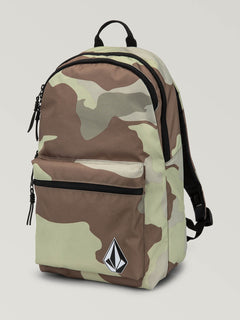 Academy Backpack In Army, Front View