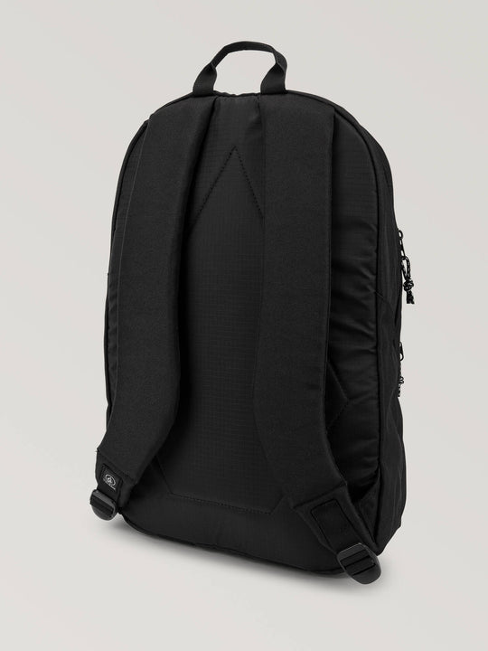 V Academy Backpack In Black, Back View