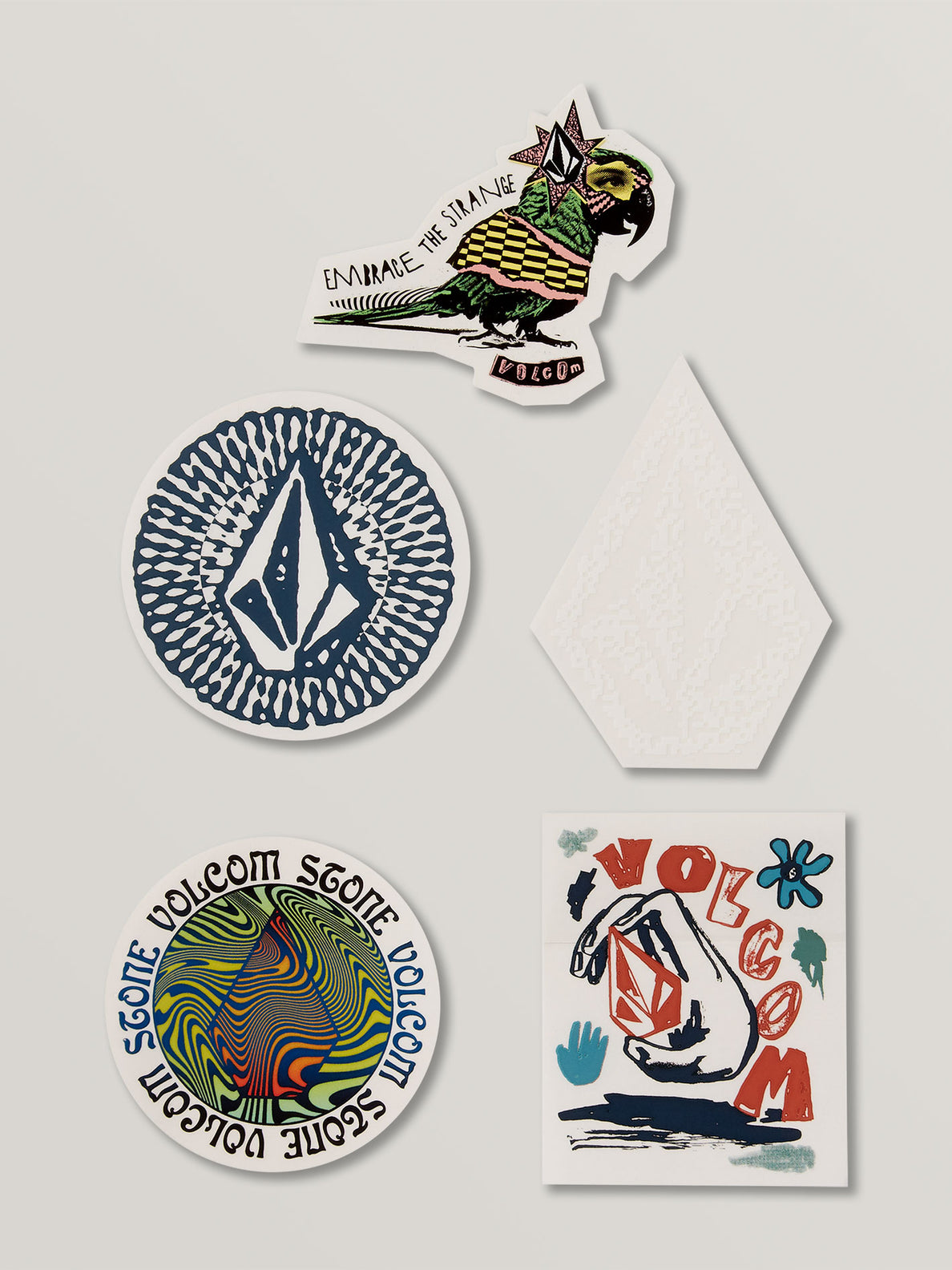 Embrace The Strange Sticker Pack - Multi