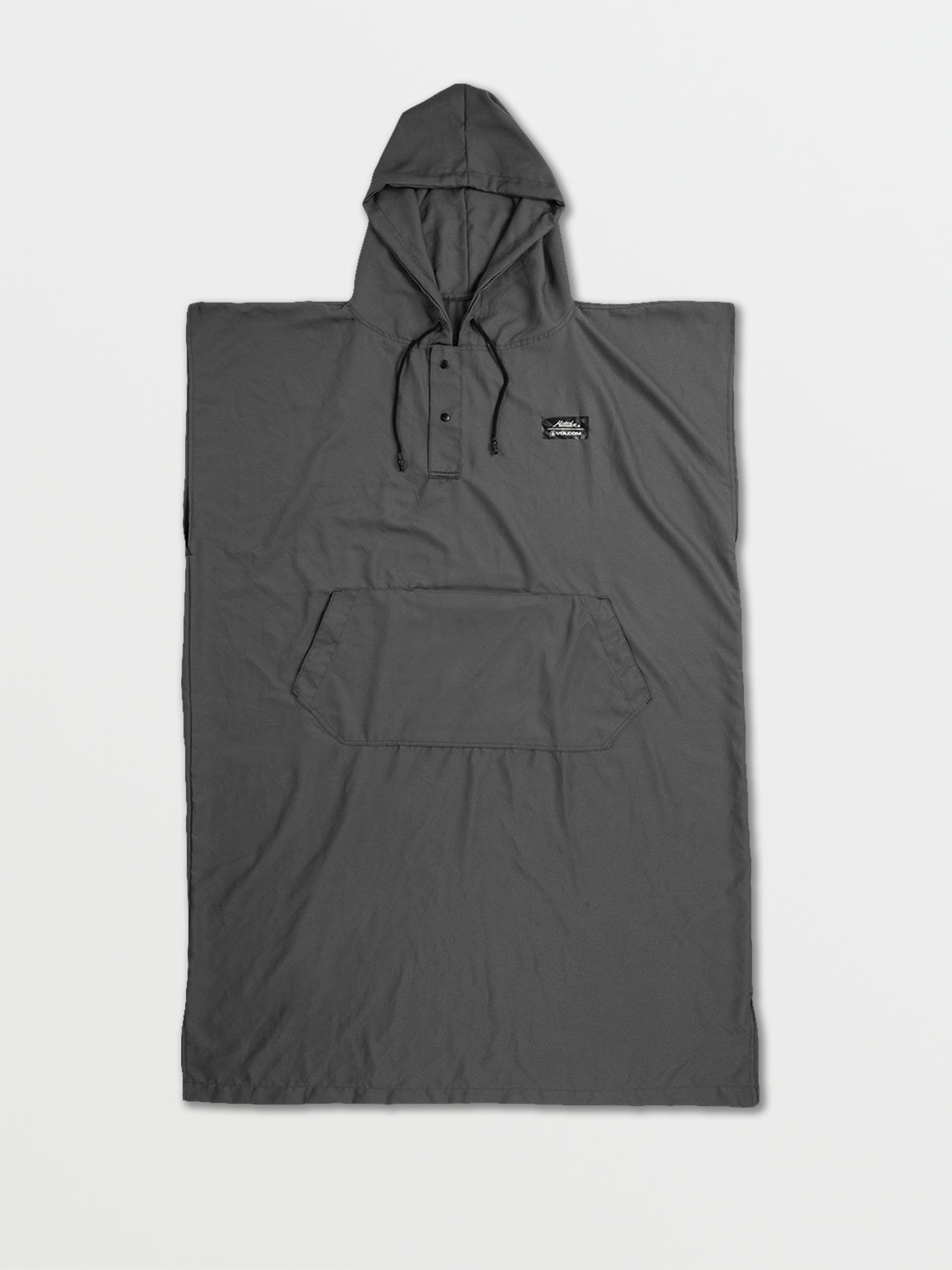 Volcom x Matador Packable Beach Poncho - Grey