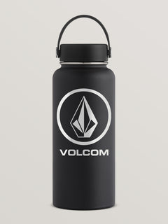 32 Oz Wide Mouth Volcom Hydro Flask - Black
