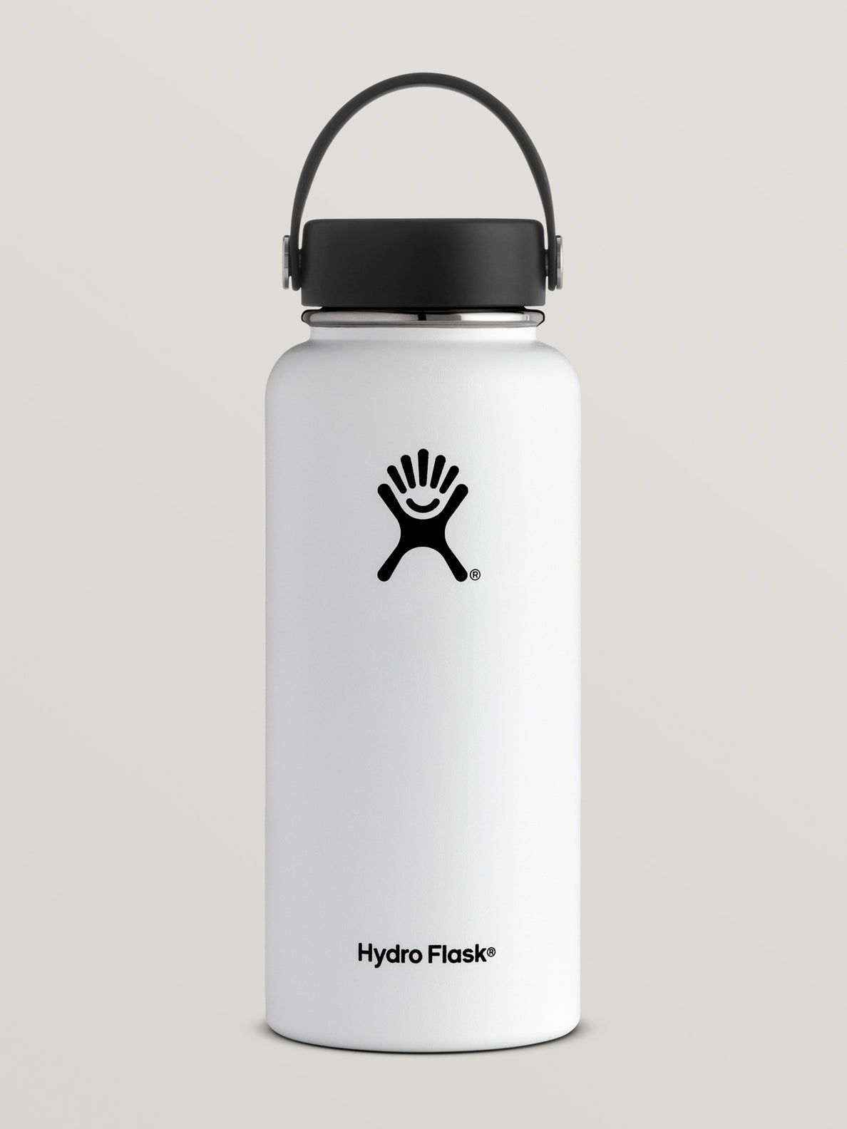 32 Oz Wide Mouth Volcom Hydro Flask - White