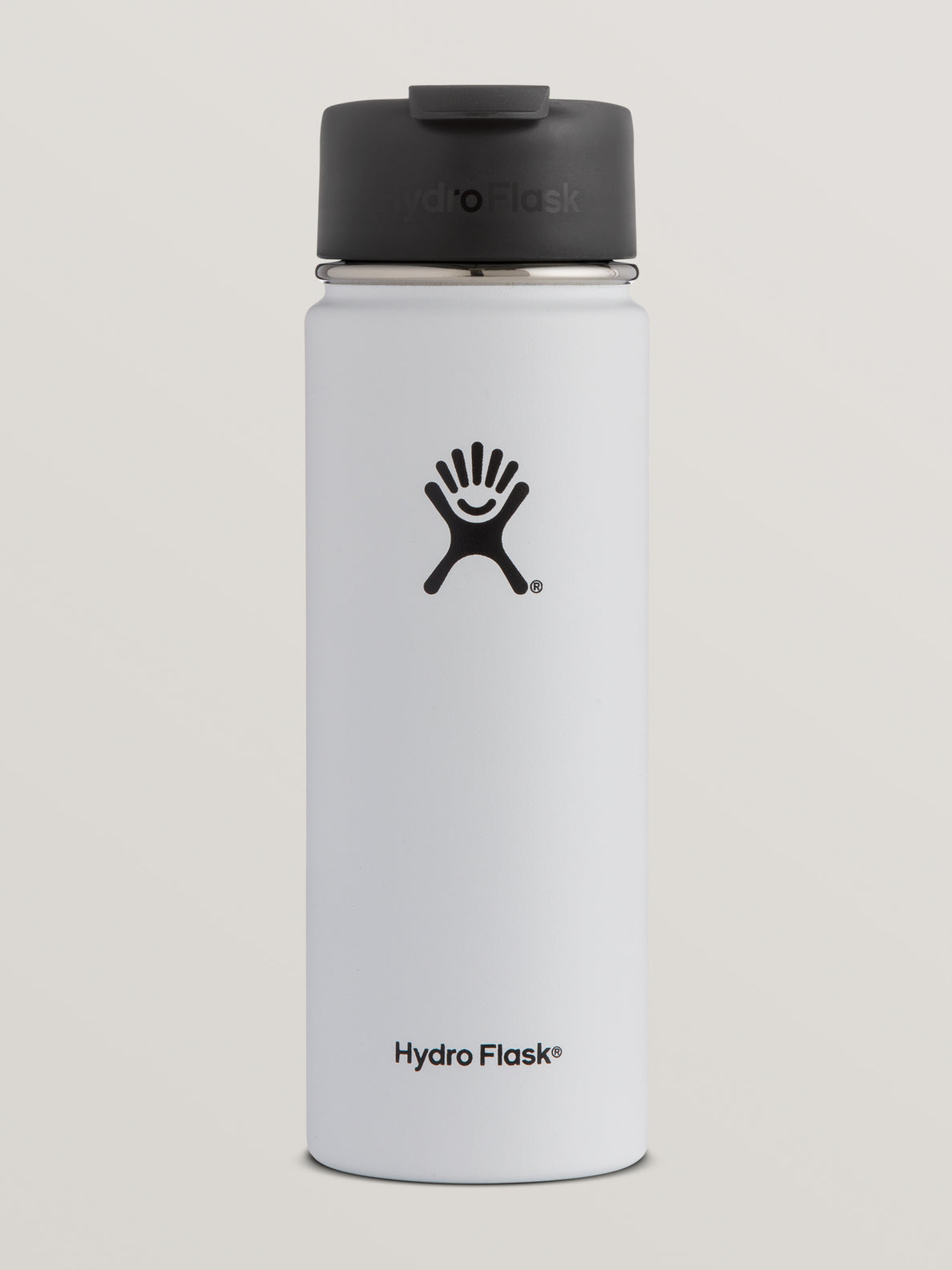 20 Oz Wide Mouth Volcom Hydro Flask - White