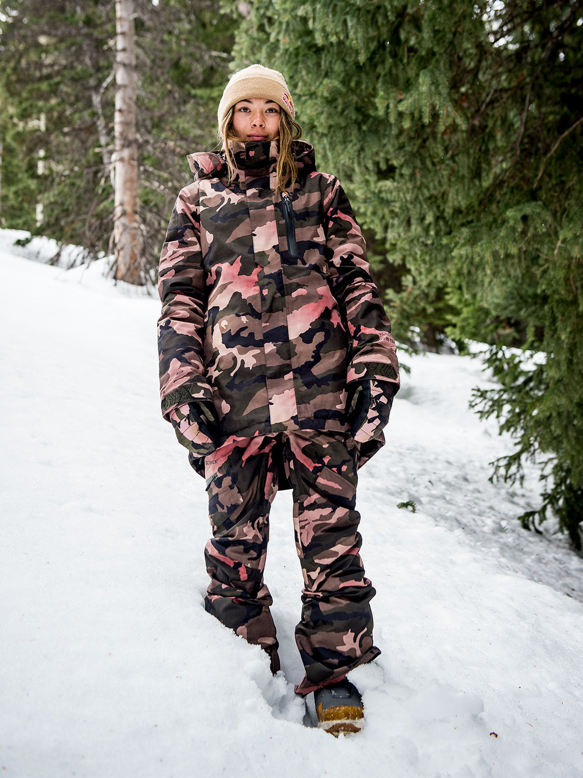 best online classic style order Womens Eva Insulated Gore-Tex Jacket - Faded Army – Volcom