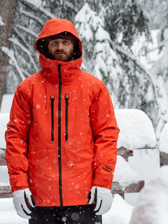 Mens Guide Gore-Tex Jacket - Orange