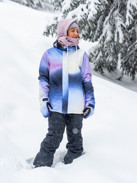 Womens Bolt Insulated Jacket - White