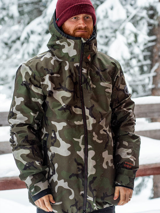 Mens Owl 3-In-1 Gore-Tex Jacket - Gi Camo