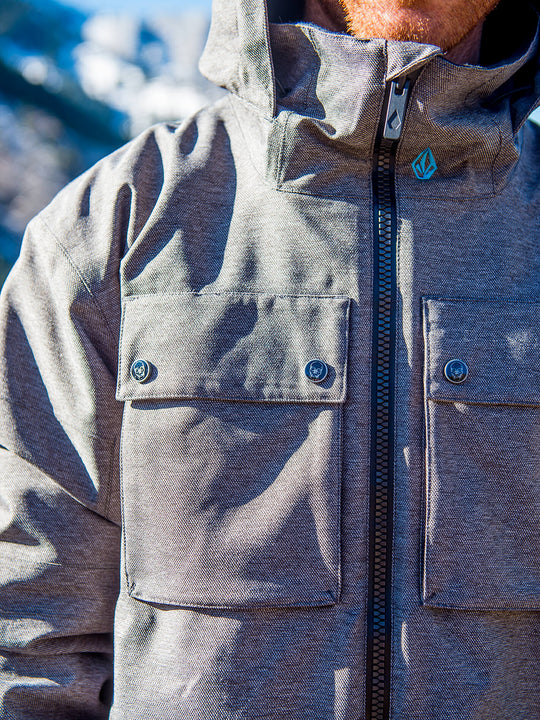 Mens Pat Moore 3-In-1 Jacket - Teak