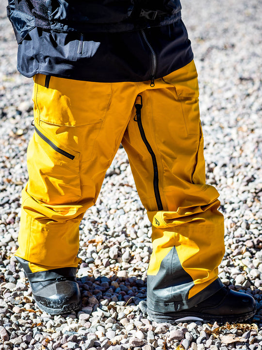 Mens Guch Stretch Gore-Tex Pants - Resin Gold