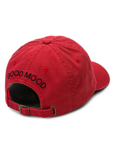 43bf12a2 ... Good Mood Dad Hat In Chili Red, ...