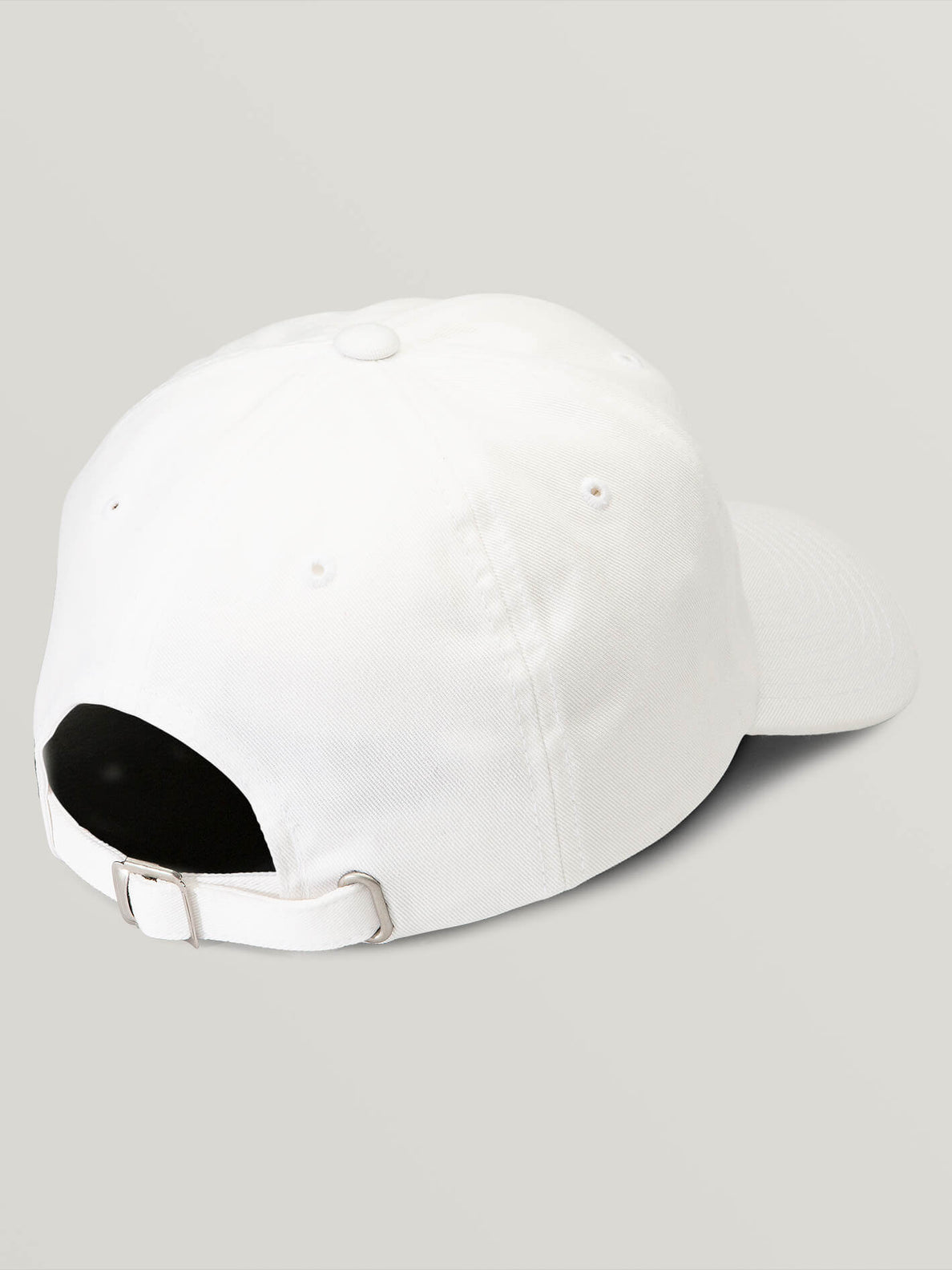That Was Fun Hat In White, Back View