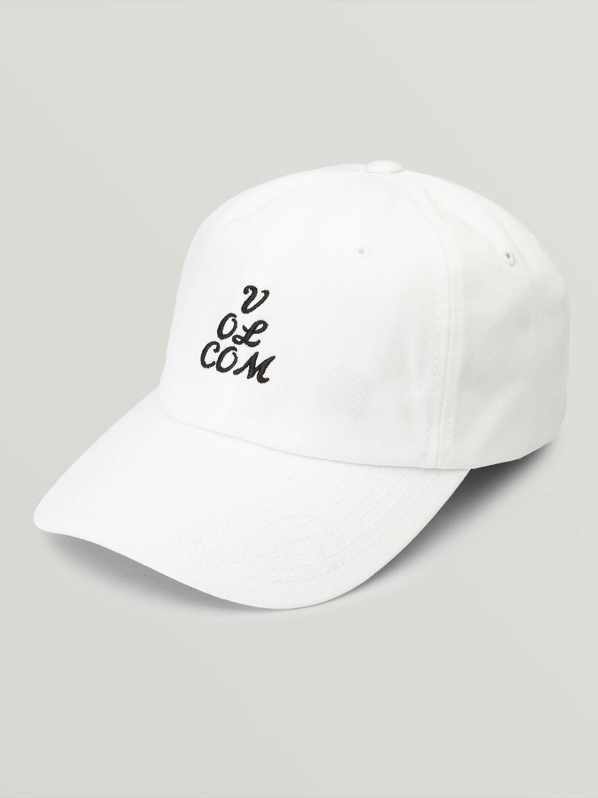 That Was Fun Hat In White, Front View