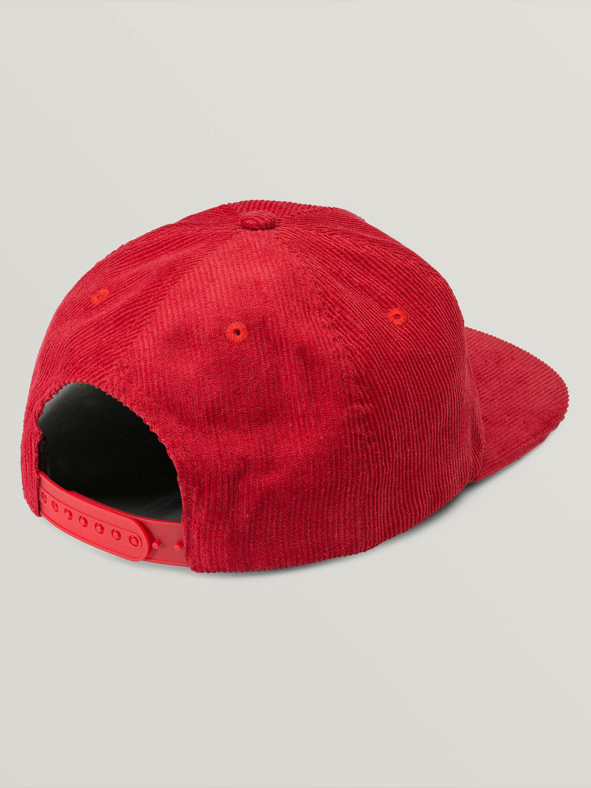 Animal Hour Hat In Red, Back View