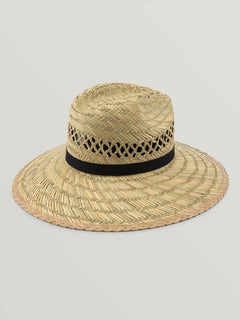 Dazey Straw Hat In Natural, Back View