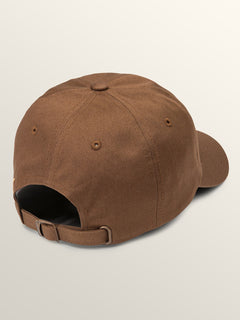 Cherry Bombs Dad Hat In Dark Brown, Back View