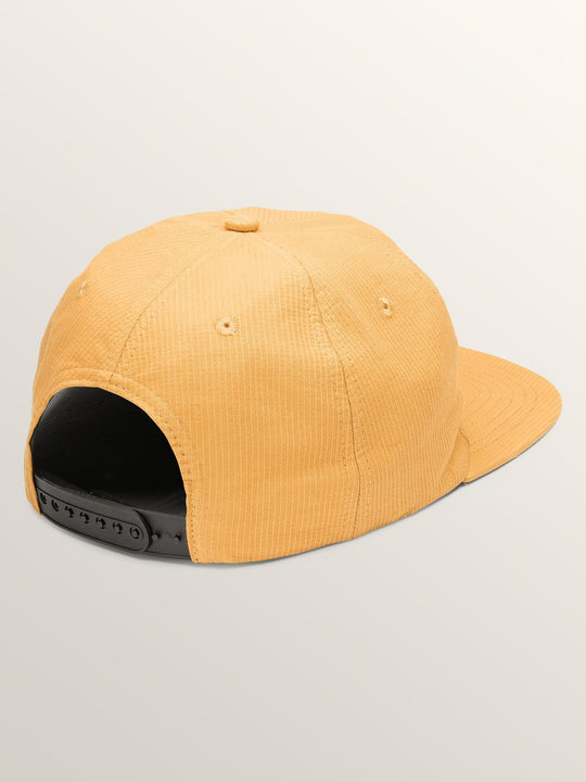 Stack That Hat In Mustard, Back View
