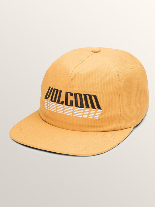 Stack That Hat In Mustard, Front View