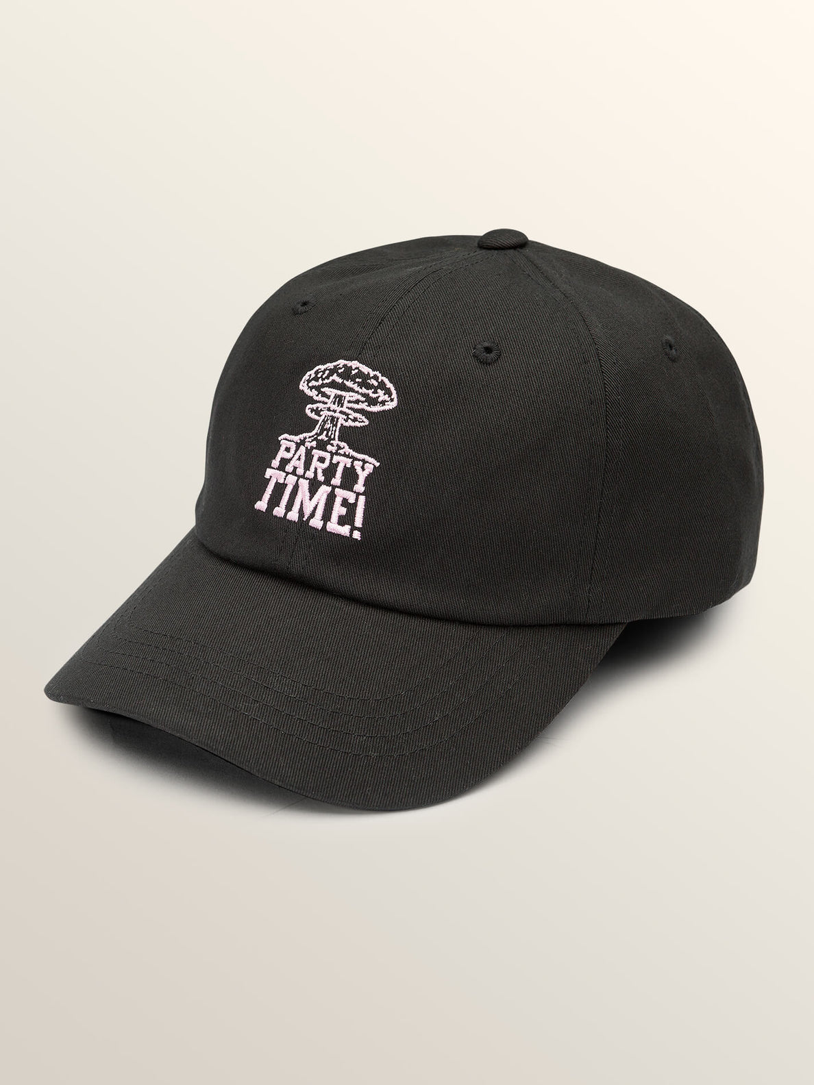 Totally Stoke Hat In Black, Front View