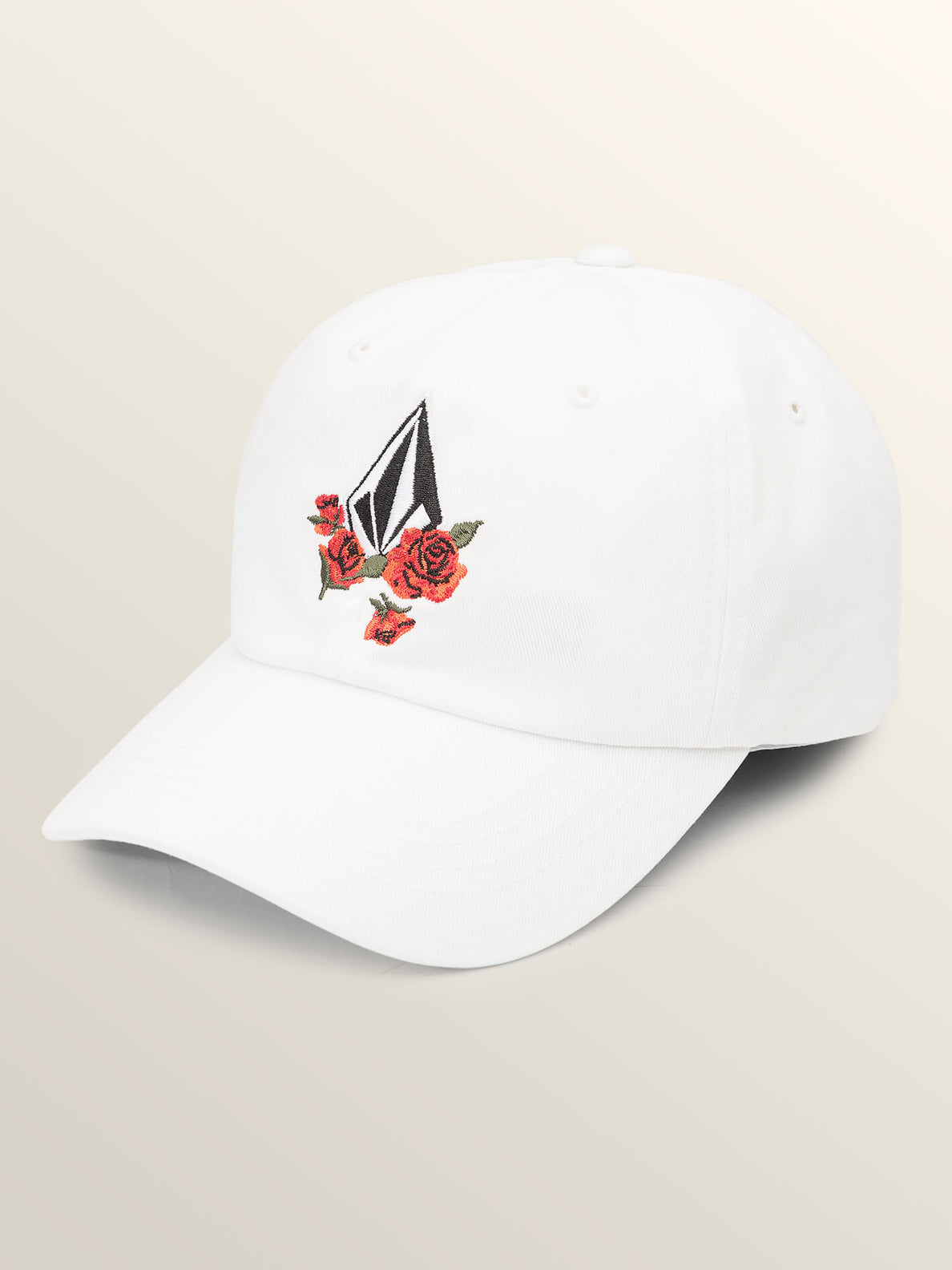 Totally Stoke Hat In White, Front View