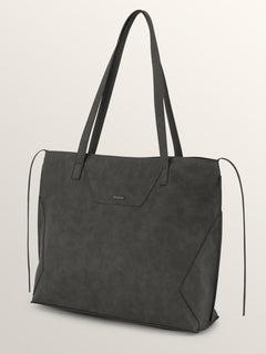 Volni Tote Bag In Black, Front View