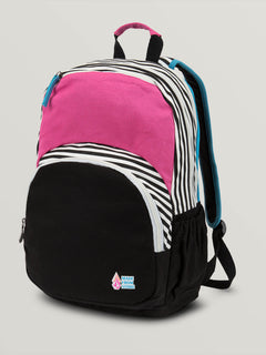 Fieldtrip Canvas Backpack In Multi, Front View