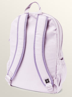 Fieldtrip Canvas Backpack In Blurred Violet, Back View