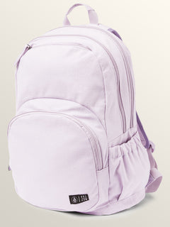Fieldtrip Canvas Backpack In Blurred Violet, Front View