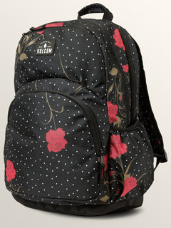Fieldtrip Poly Backpack In Black Combo, Front View